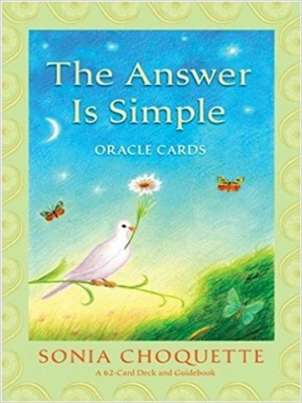 The Answer Is Simple Card Deck