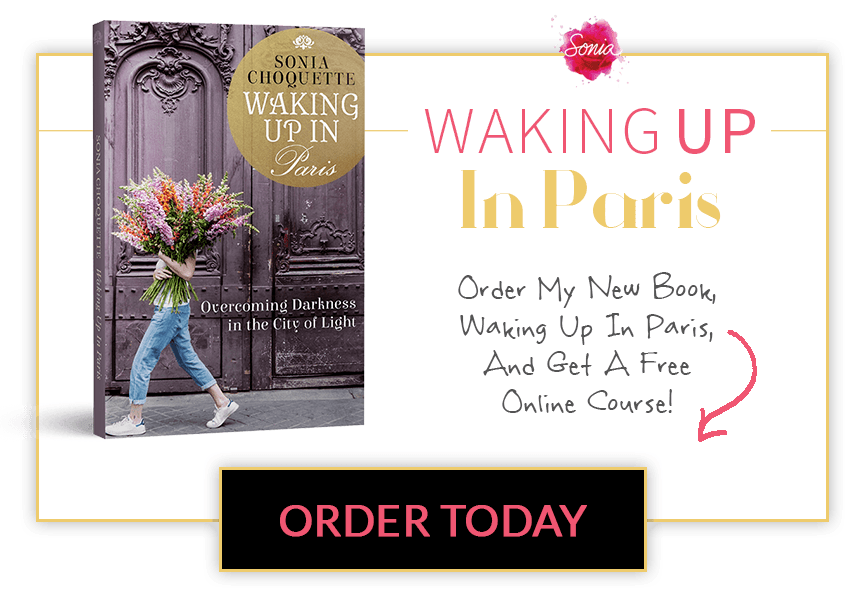 Order my new book, Waking Up In Paris, and get a free course! Order Today