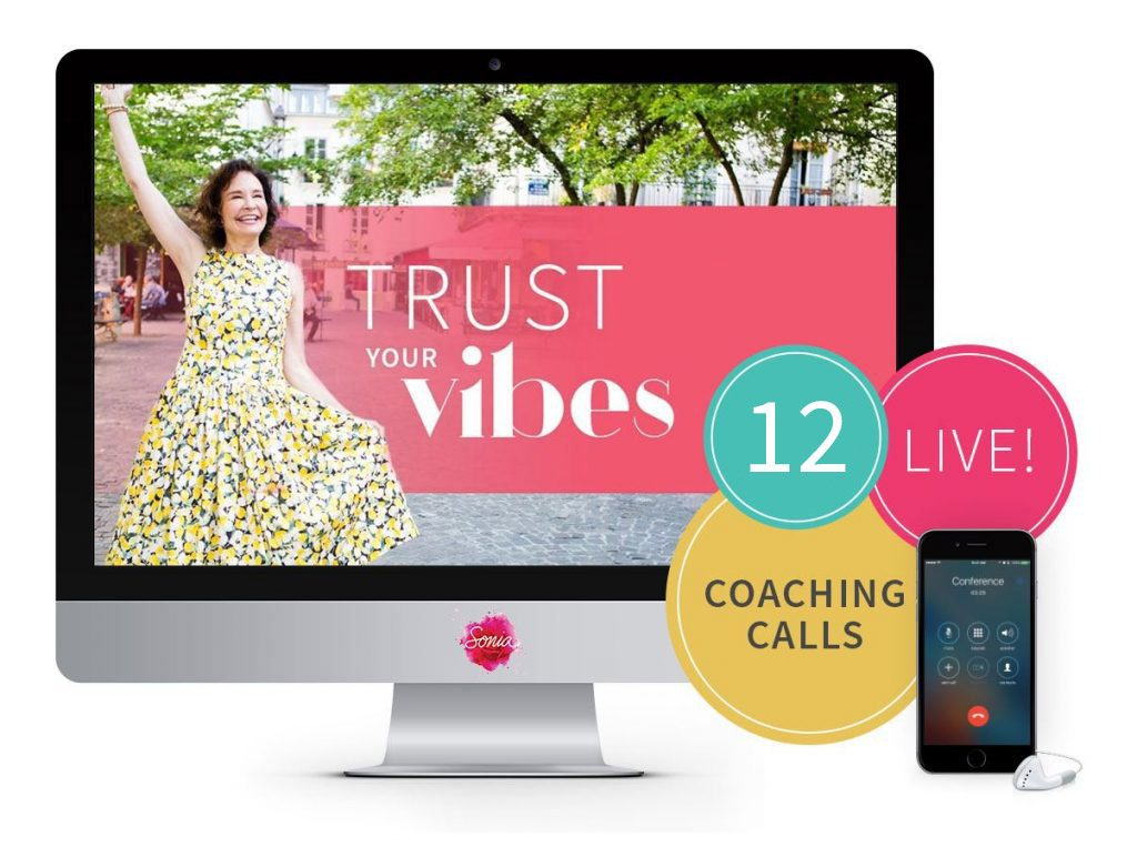 Trust Your Vibes with Sonia Choquette - Live Coaching Calls