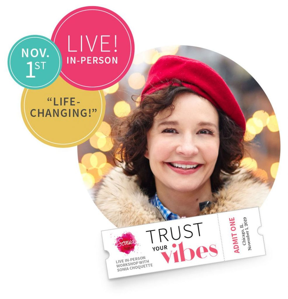 "Live! In-person Nov. 1st ""Life Changing"""